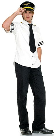 Cool Men's Sailor cotton white men's costume outfit