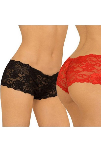 Gorgeous allover lace charming floral detailed design sexy hipster panty