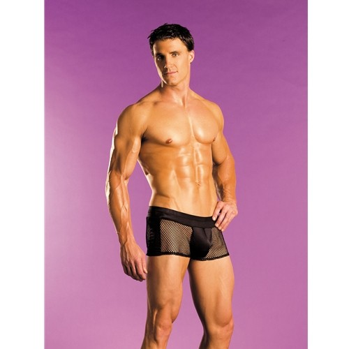 Fishnet Boxer Brief