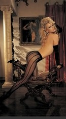 H.O.T. Classic Dot Pantyhose Sexy Lingerie for Women, Costume, Bra, Panties, sleepwear, corsets, bodysuits, teddies, robes and more. Sheer stripe and dot pantyhose