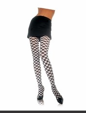 Checkerboard Pantyhose Sexy Lingerie for Women, Costume, Bra, Panties, sleeepwear, corsets, bodysuits, teddies, robes and more.