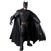 Batman Dark Knight - Batman Grand Heritage Collection Adult Costume Gotham City has seen its share of criminals, but nothing like these guys. The Joker and Two-Face are plotting to bring the city down, and there's only one man that can stop them – Gotham'