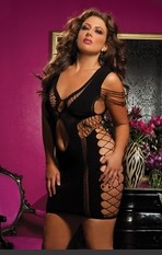 Plus Size Flirtatious Seamless Dress